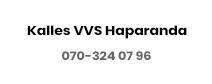 Kalles VVS Haparanda